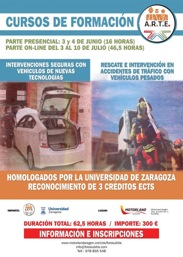 Curso ARTE-Universidad Zaragoza. En Súbitis.